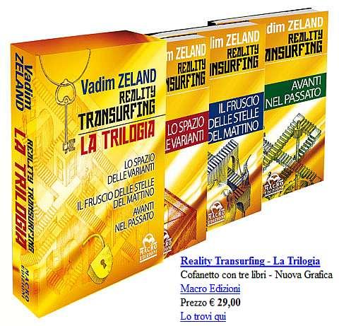 trilogia transurfing con prezzo